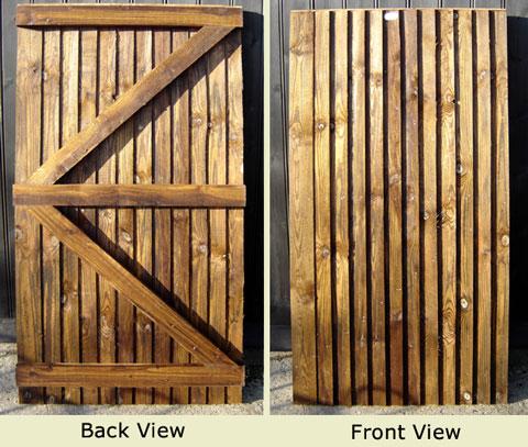 budget closeboard gate jarrett fencing