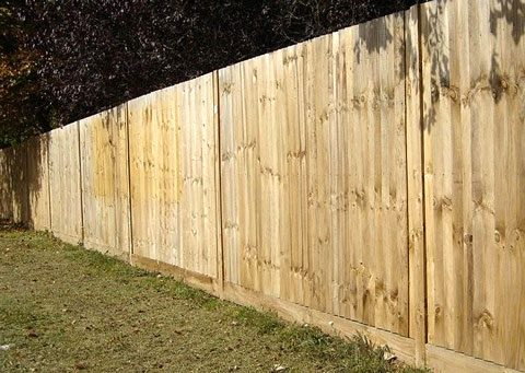 Closeboard Kits with Timber Posts & Timber Gravel boards