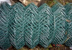 Green Chain Link - 25 metre roll