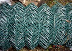 Green Chain Link - 25 metre roll