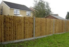 Closeboard Kits with Concrete Posts & Concrete Gravel Boards