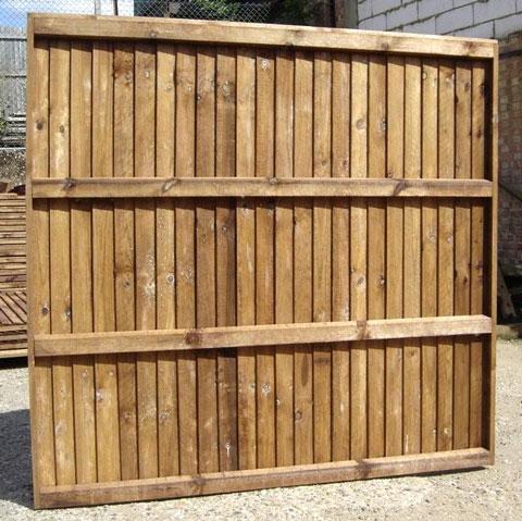 Heavy Duty Closeboard Panel 6ft Wide Jarrett Fencing