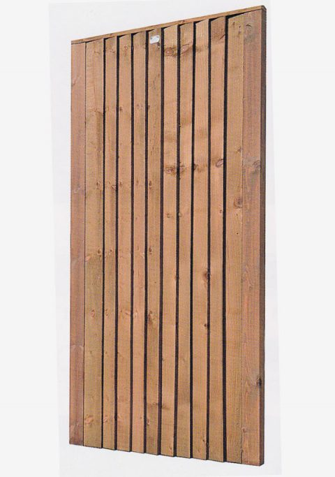Closeboard Gate - Front