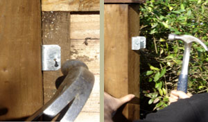 Attaching panel clips