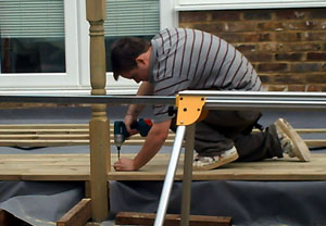 Installing Decking