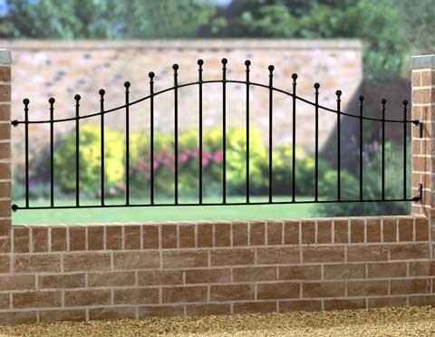 Manor Arched Railing Ma04 Jarrett Fencing
