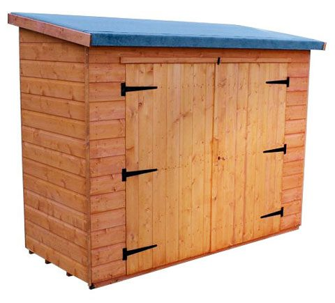 Pent Compact  Shed