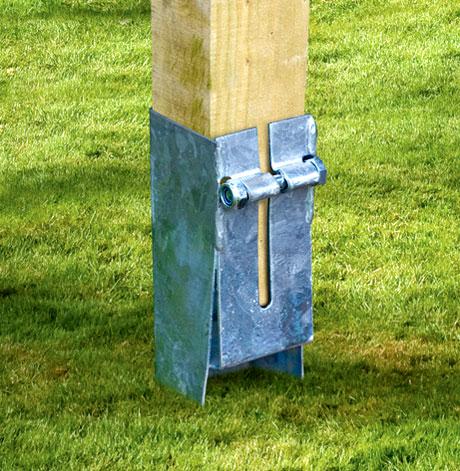 Post Anchor - 95mm x 95mm - Jarrett Fencing