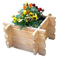 Interlocking Planter - 28mm wood