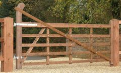 Raised Field Gate