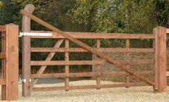 Raised Field Gate