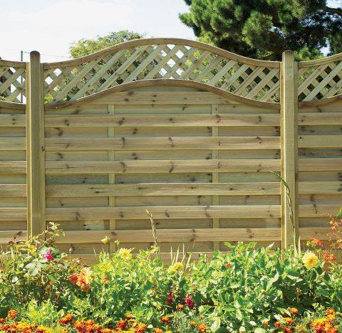 St Meloir Fence Panel