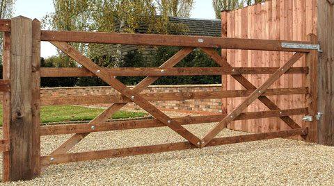 Diamond Braced Field Gate