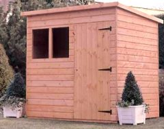 Super Pent Shed