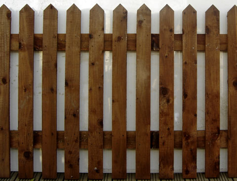 Heavy Duty Pointed Top Palisade Panel